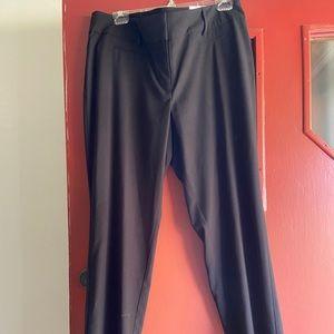 Loft size 14 curvy straight leg dress pants